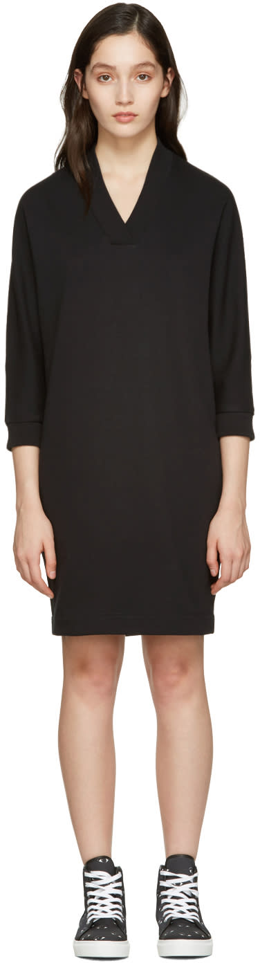Kenzo Black Logo Pullover Dress