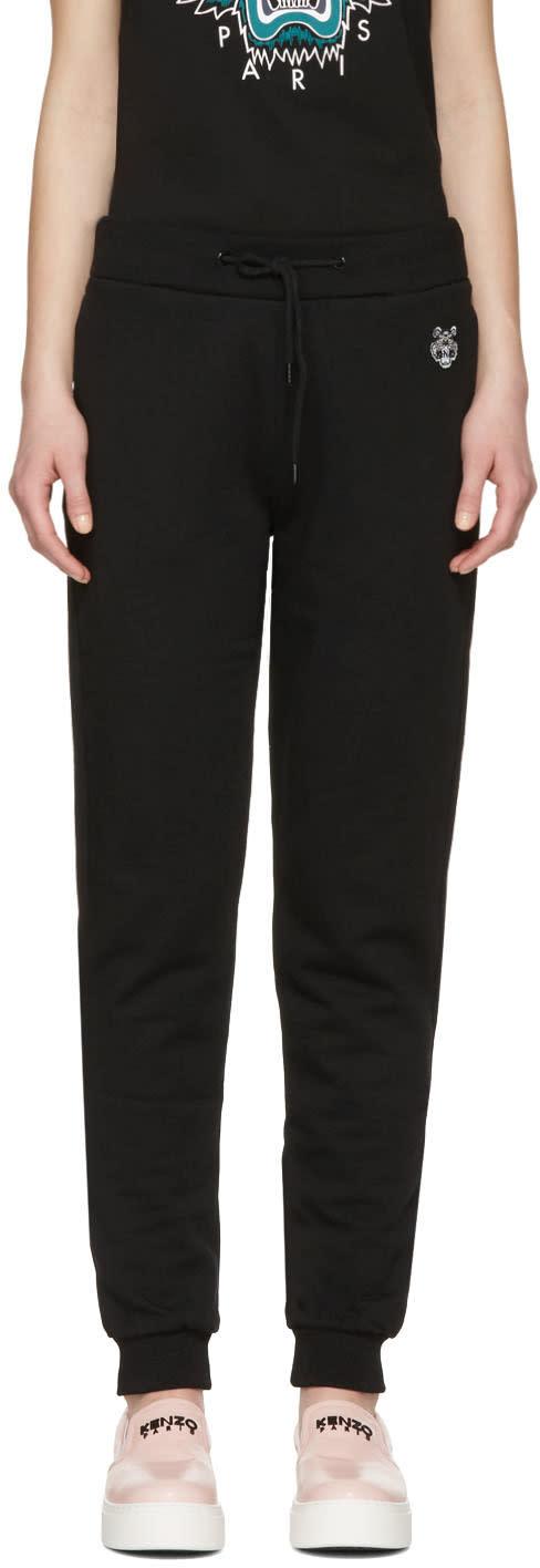 Kenzo Black Tiger Crest Track Pants