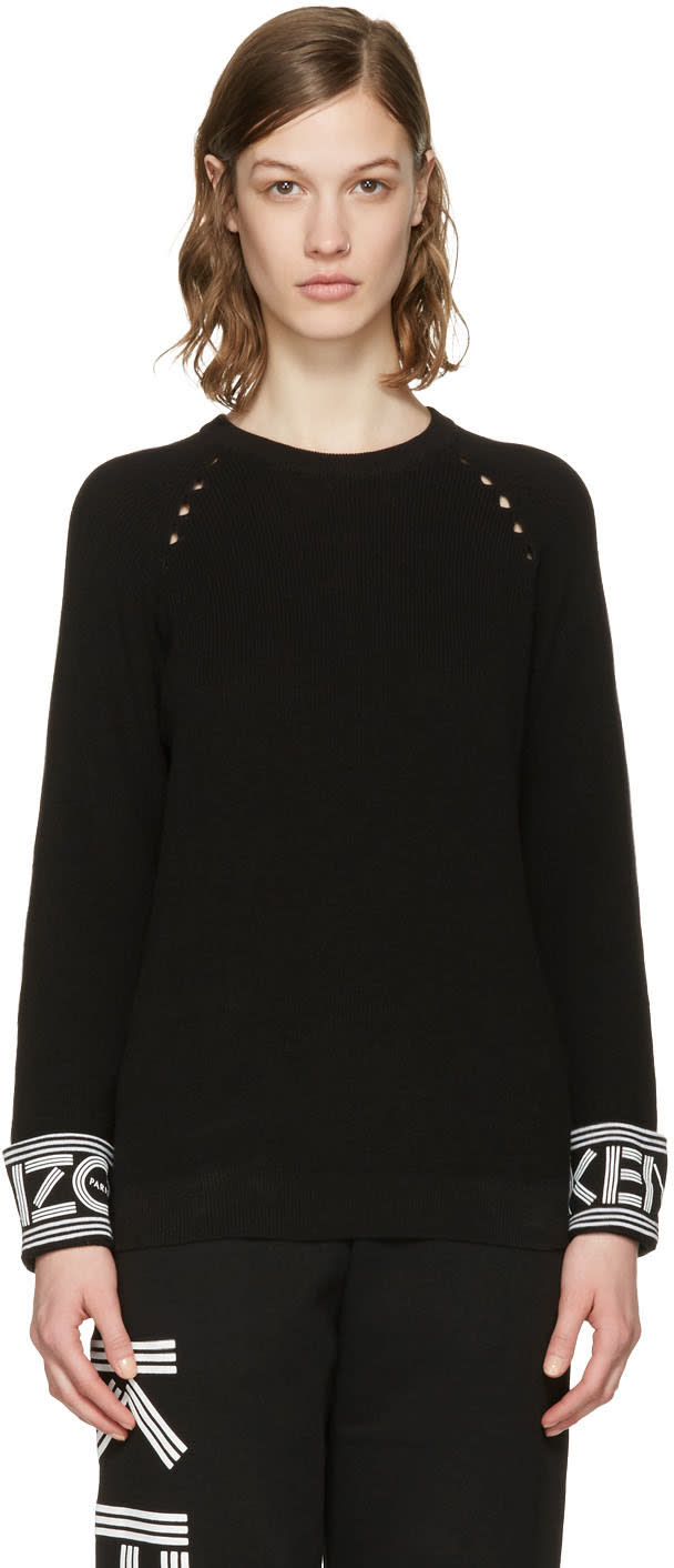 Kenzo Black Paris Sweater