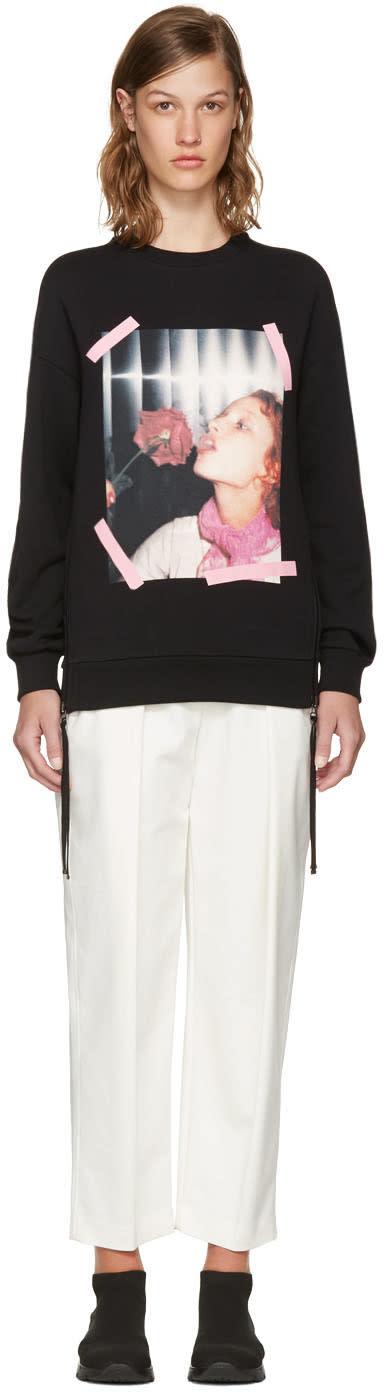 Kenzo Black Donna Jordan Zipped Sweatshirt