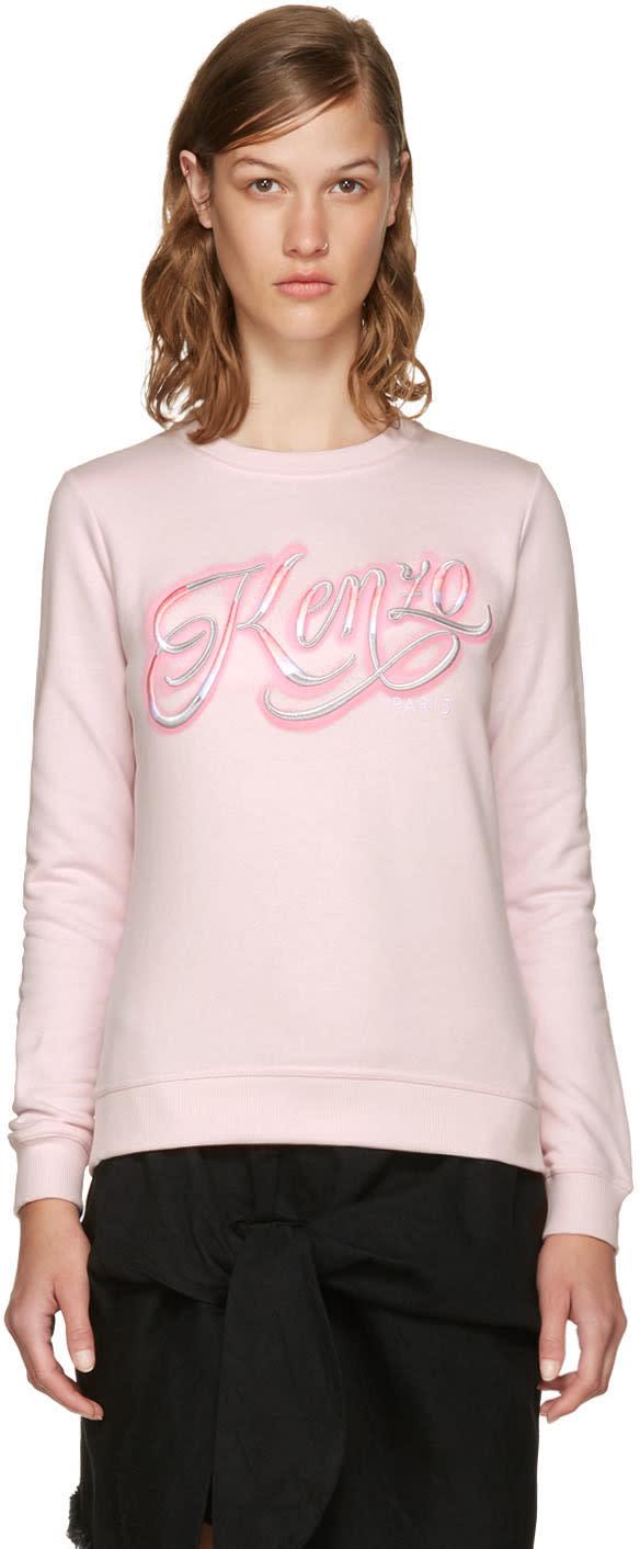 Kenzo Pink Lyrics Sweatshirt