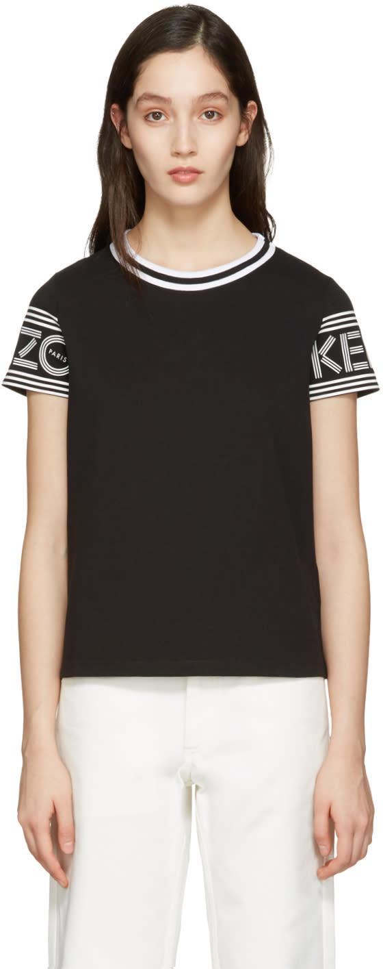 Kenzo Black Logo T-shirt