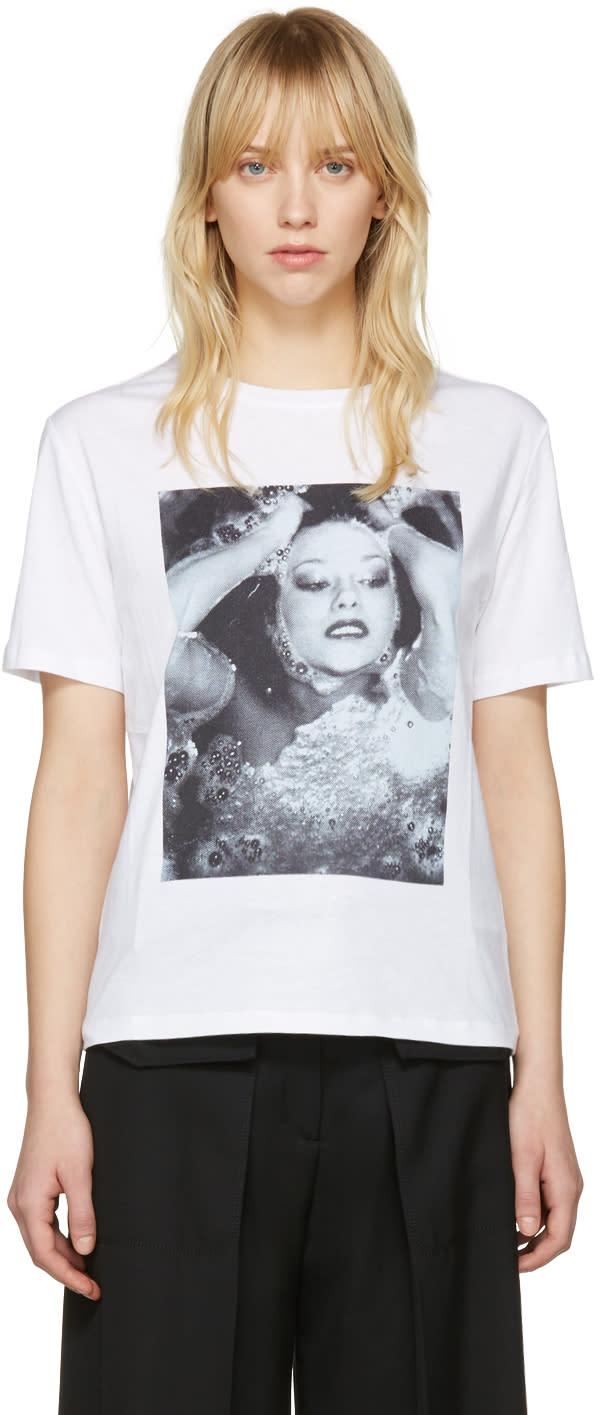 Kenzo White Antonio Girls T-shirt