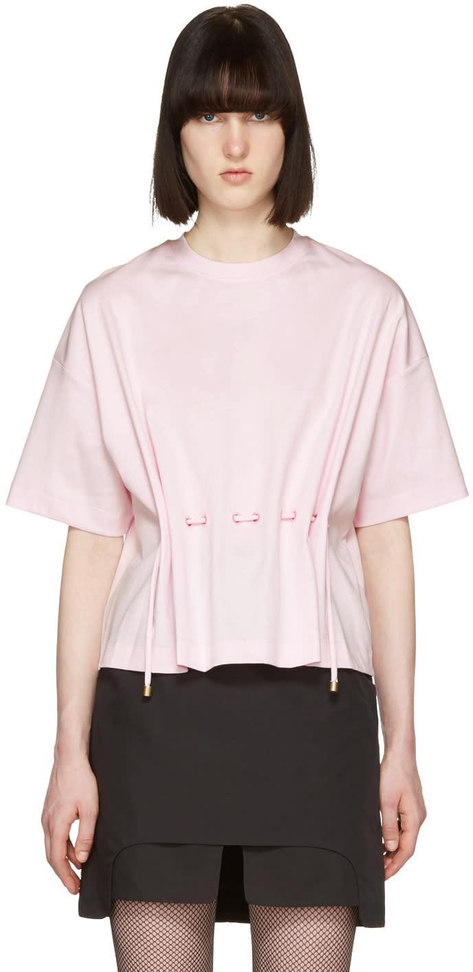 Kenzo Pink Drawstring T-shirt
