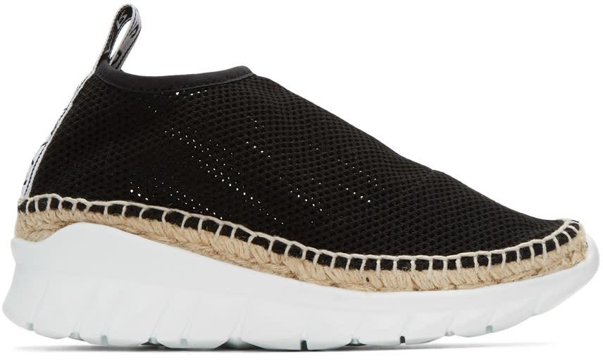 Kenzo Black Scuba Platform Sneakers