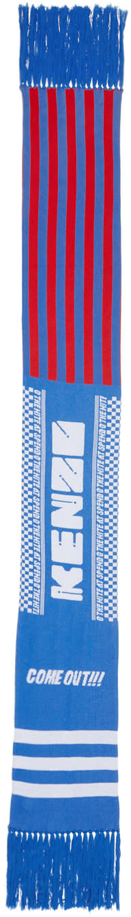 Kenzo Blue come Out Scarf