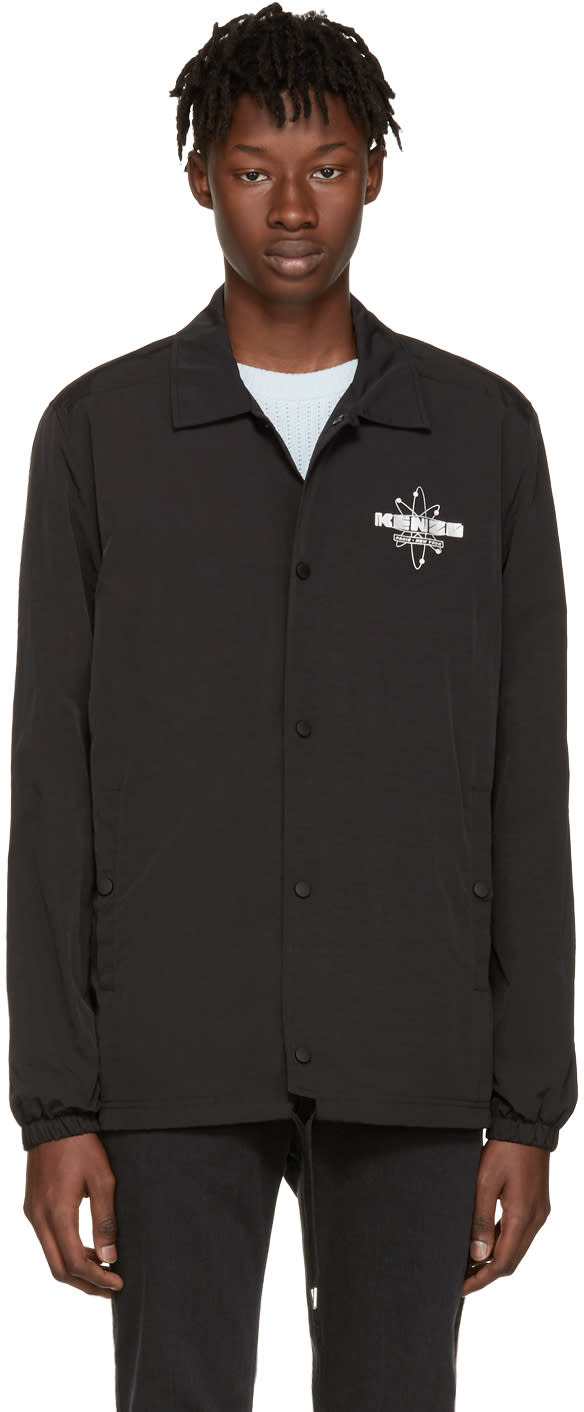 Kenzo Black Nasa Logo Jacket