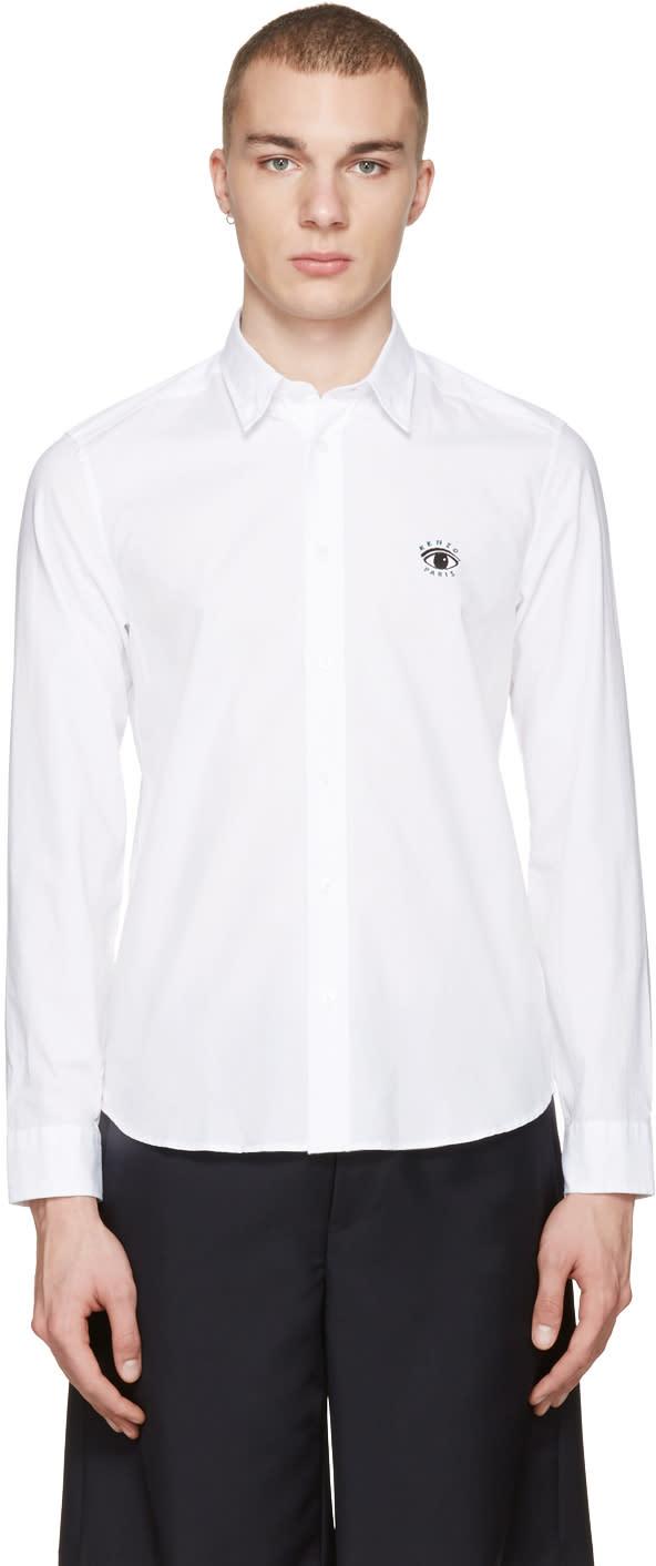 Kenzo White Eye Shirt