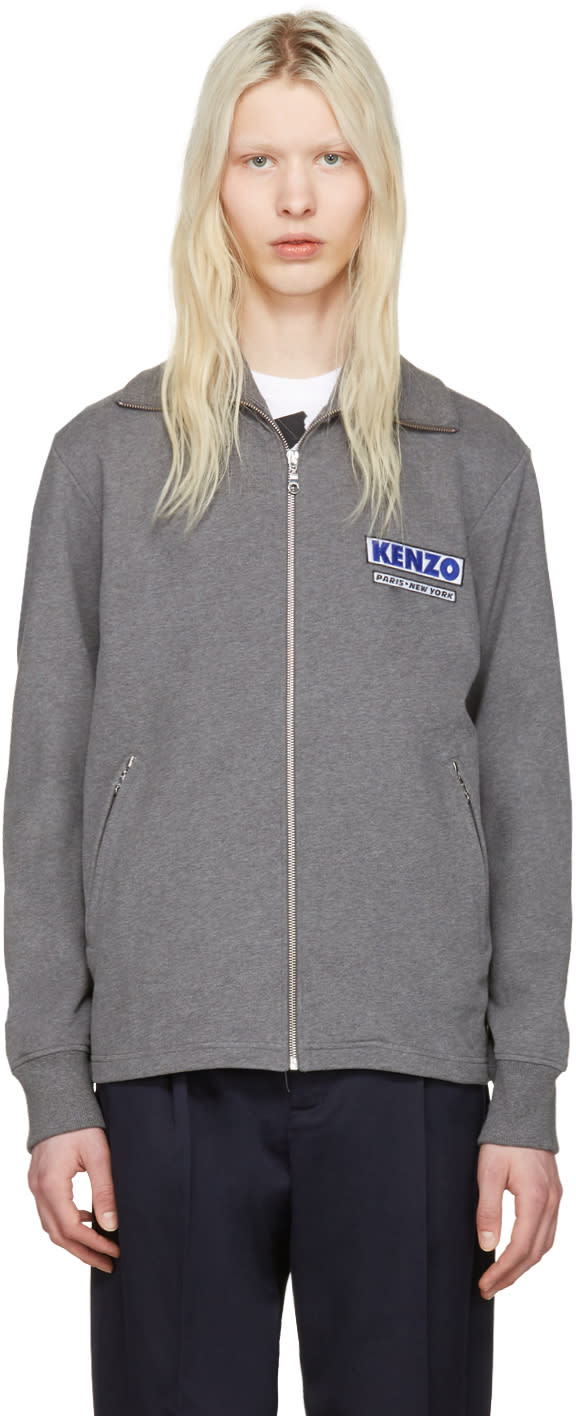 Kenzo Grey come Out Track Jacket