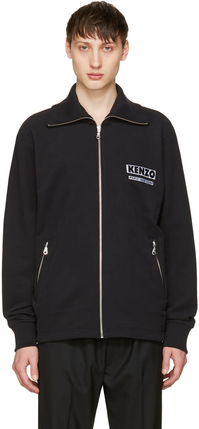 Kenzo Black come Out Track Jacket