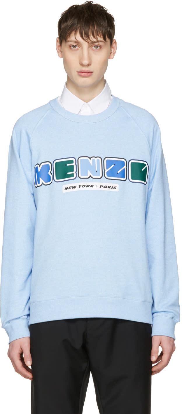 Kenzo Blue Nasa Logo Pullover