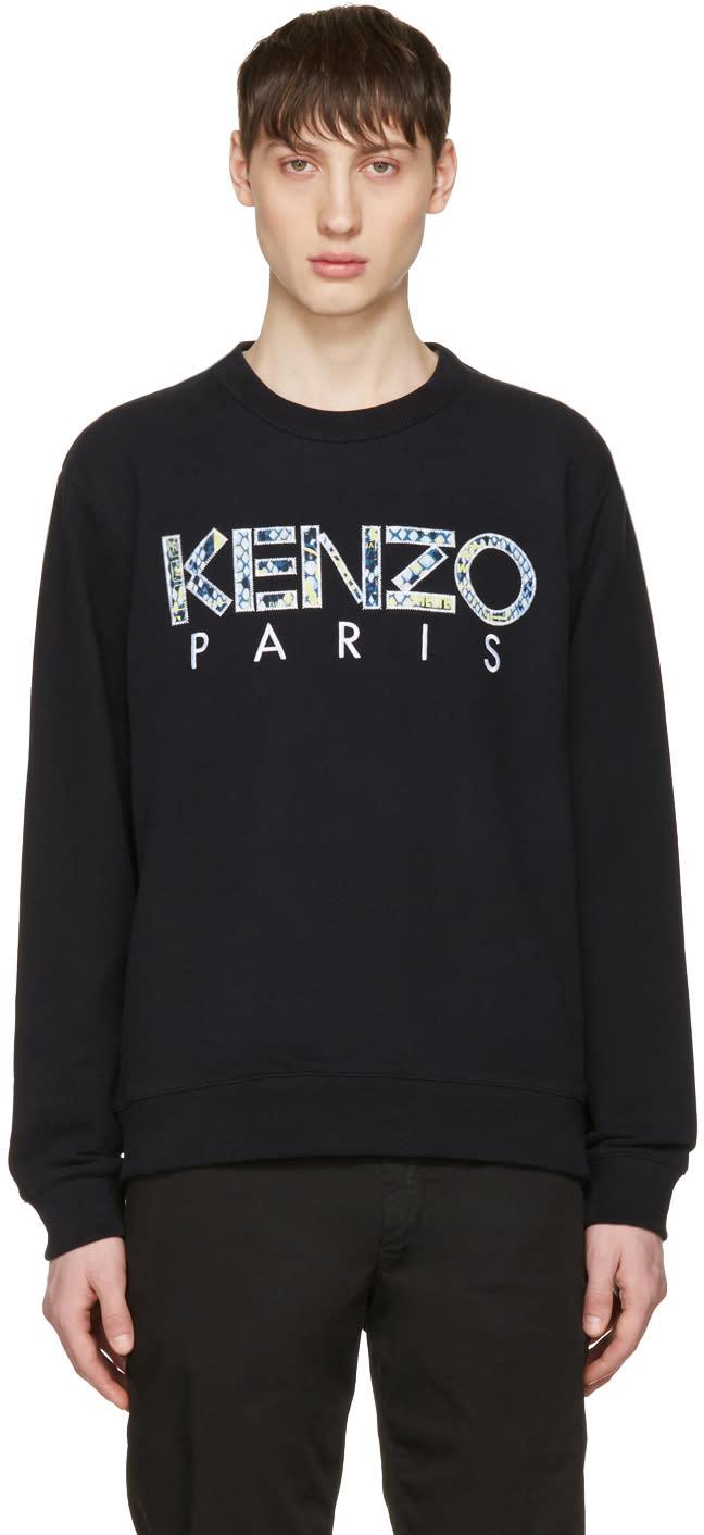 Kenzo Black Logo Pullover