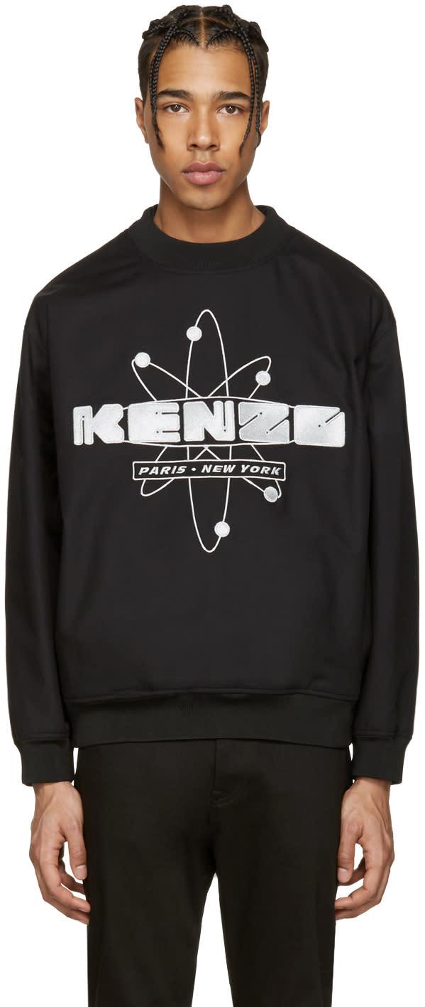 Kenzo Black Nasa Logo Pullover