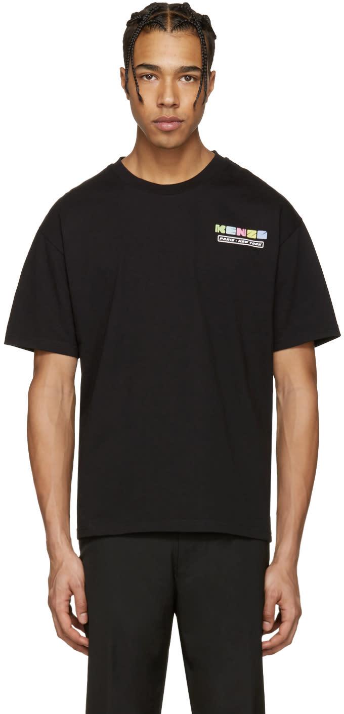 Kenzo Black Nasa Logo T-shirt