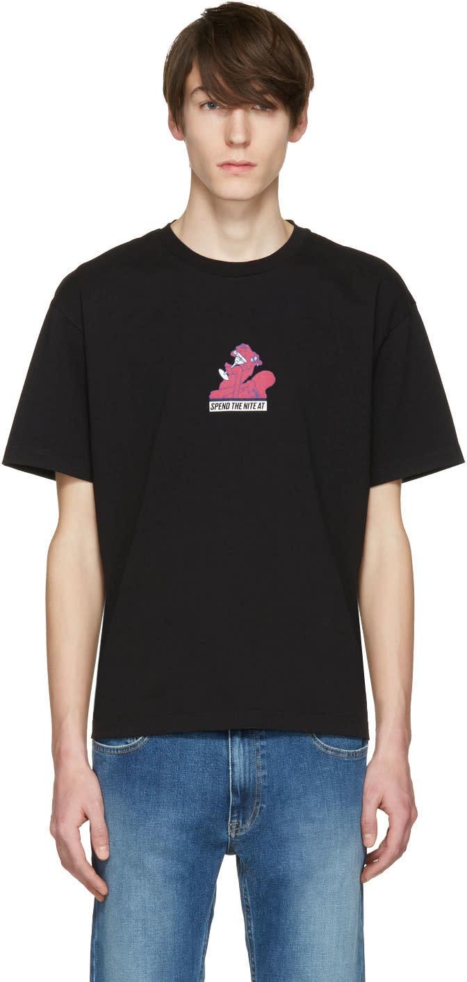 Kenzo Black Drunk Camel T-shirt