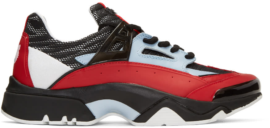 Kenzo Red Sonic Sneakers