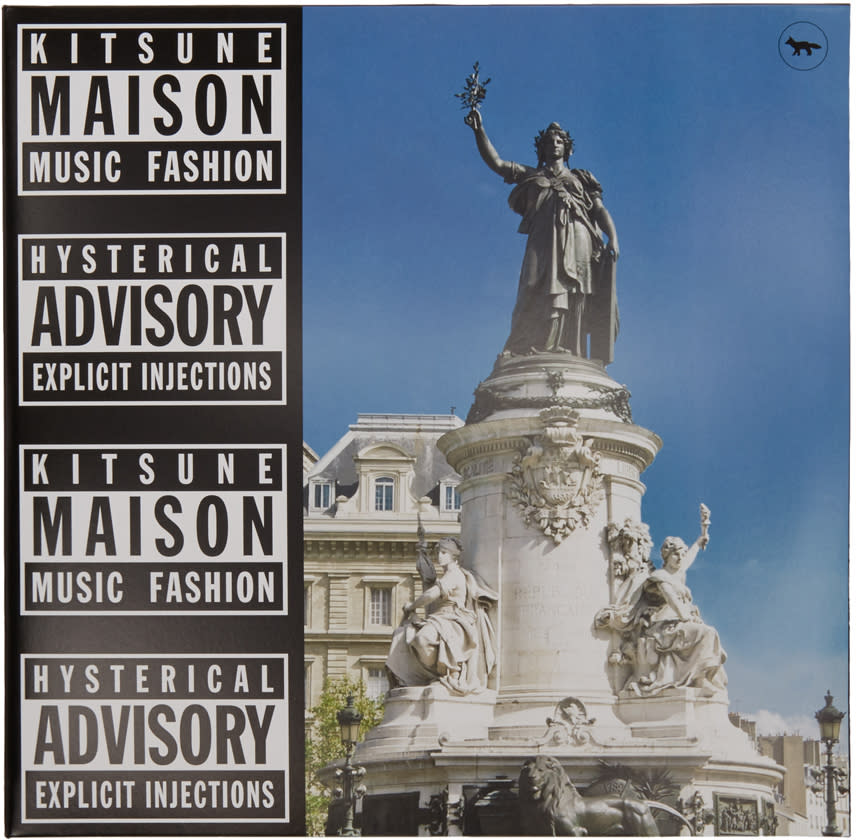 Maison Kitsune Ssense Exclusive Kitsune Maison 18 Compilation Vinyl Album
