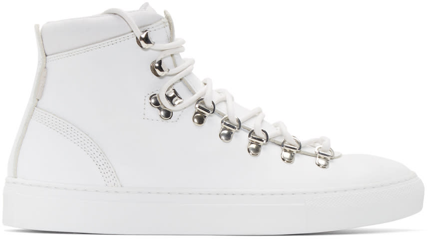 Diemme White Marostica Mid-top Sneakers