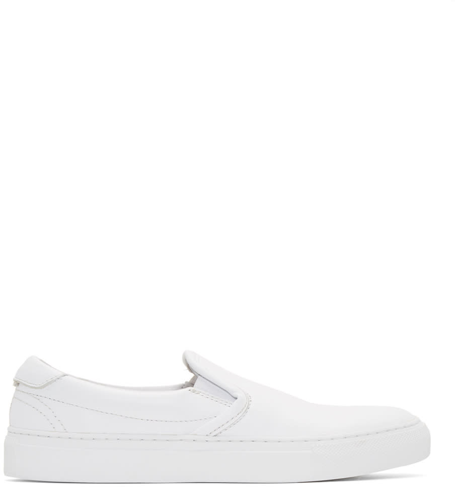 Diemme White Garda Slip-on Sneakers