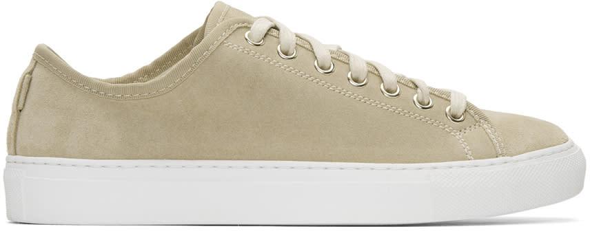 Image of Diemme Beige Suede Veneto Low Sneakers