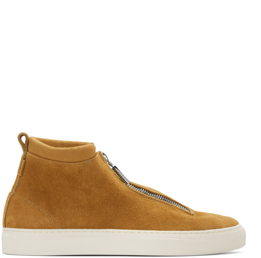 Diemme Tan Suede Fontesi High-top Sneakers
