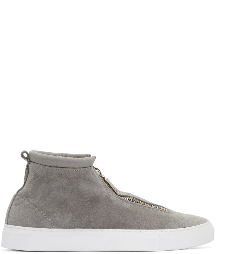 Diemme Grey Suede Fontesi High-top Sneakers