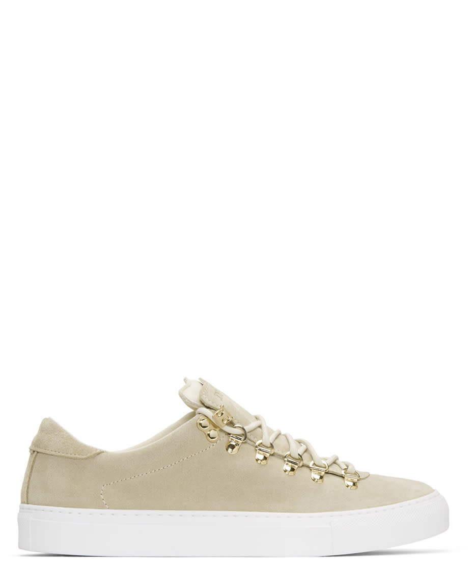 Image of Diemme Beige Suede Marostica Low Sneakers
