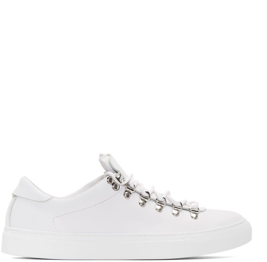 Diemme White Marostica Low Sneakers