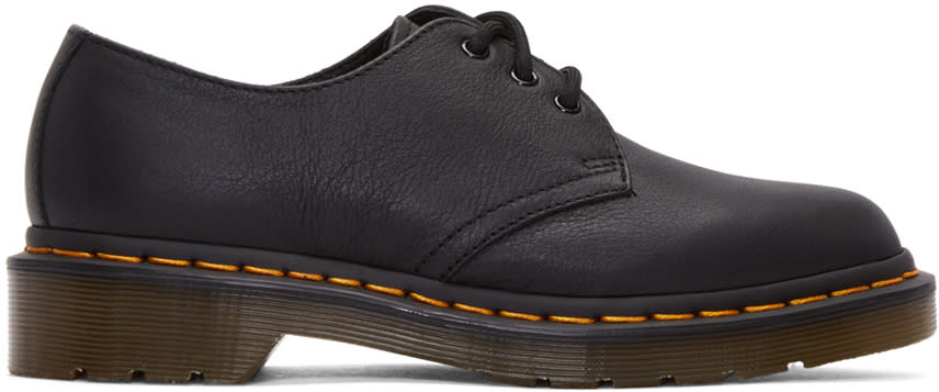 Dr. Martens Black Three-eye 1461 Derbys