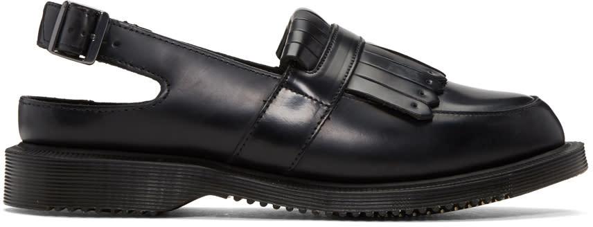 Dr. Martens Black Valentine Loafers