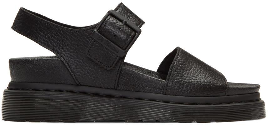 Dr. Martens Black Romi Sandals