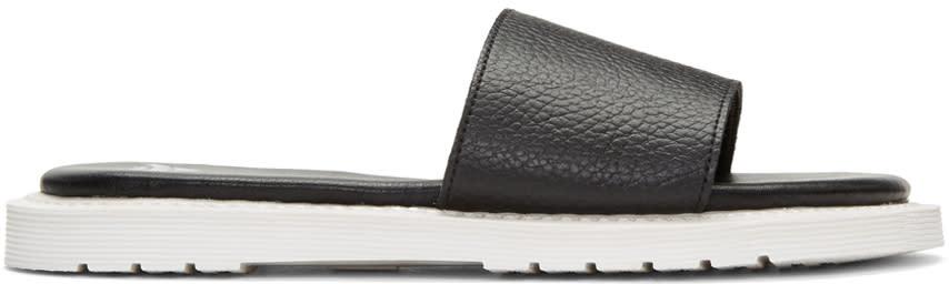 Dr. Martens Black Cierra Ii Slide Sandals