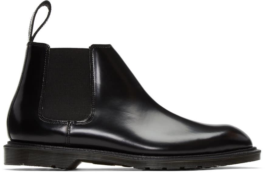 Dr. Martens Black Wilde Low Boots