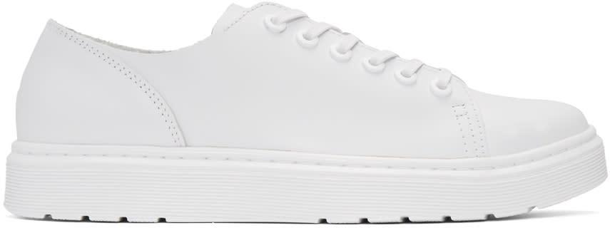 Dr. Martens White Dante Sneakers