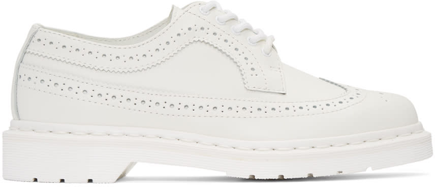 Dr. Martens White 3989 Brogues