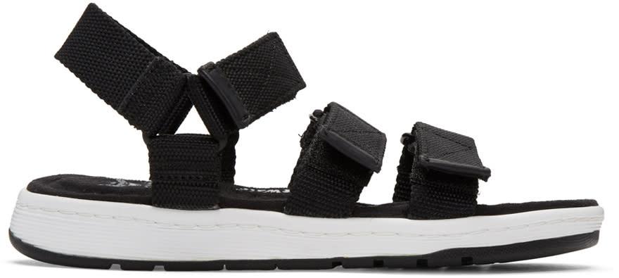 Dr. Martens Black Maldon Sandals