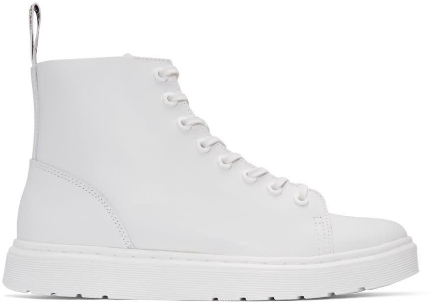 Dr. Martens White Talib Boots