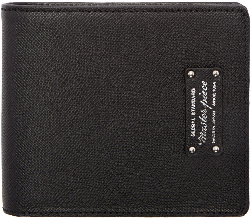 Master-piece Co Black Bifold Wallet