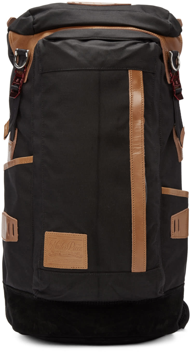 Master-piece Co Black Potential Backpack
