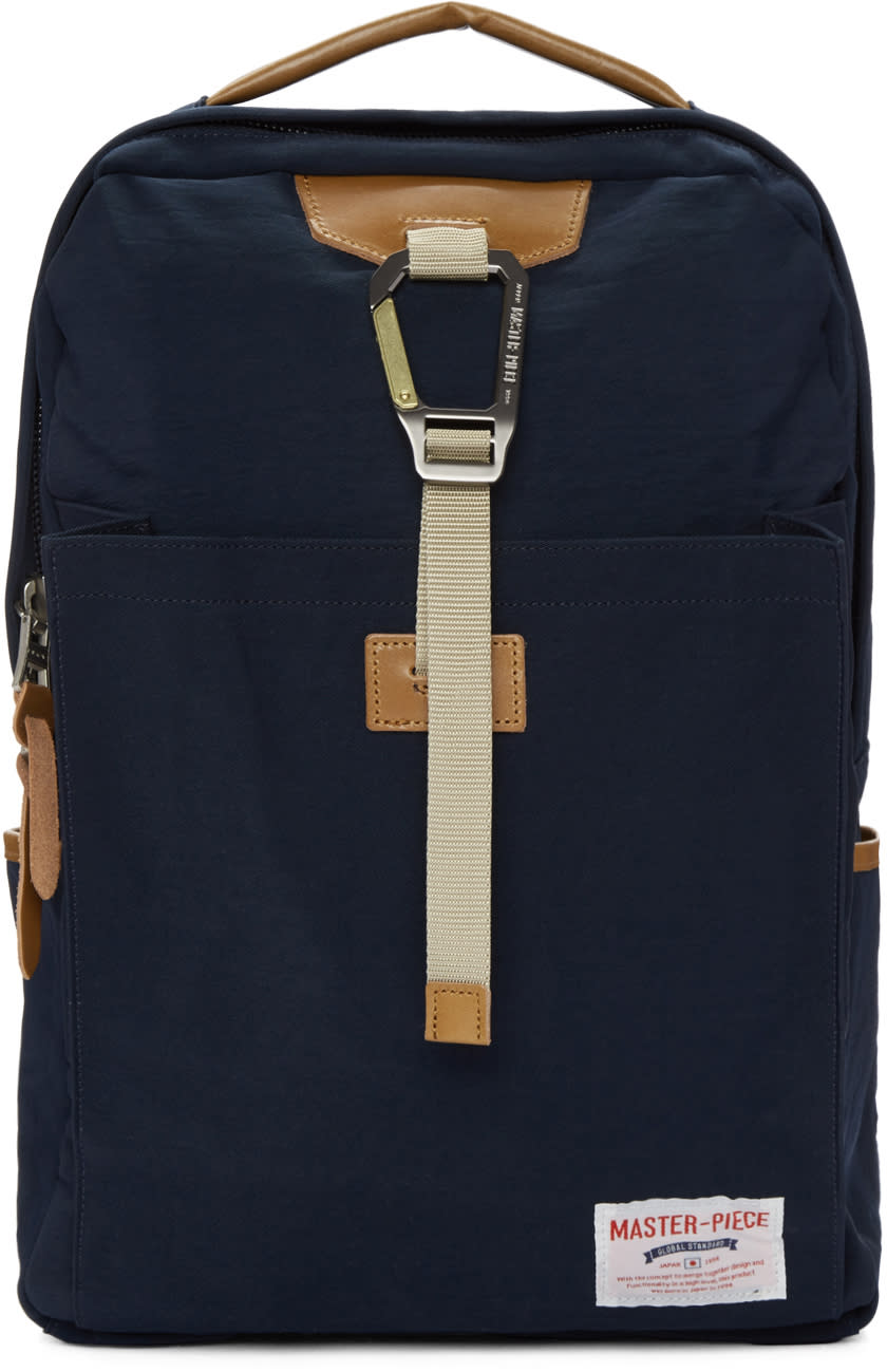 Master-piece Co Navy Link Backpack