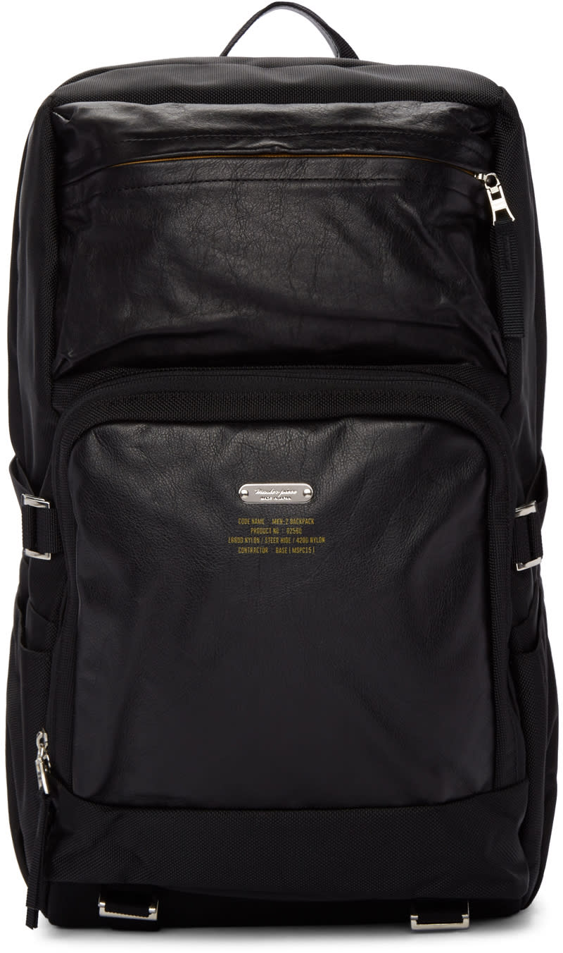 Master-piece Co Black Spec Backpack