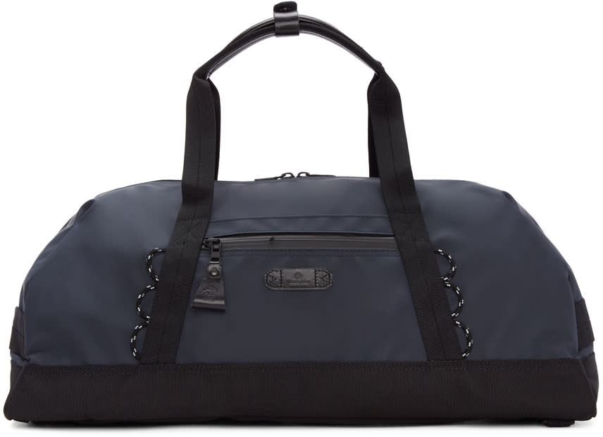 Master-piece Co Navy Convertible Duffle Bag