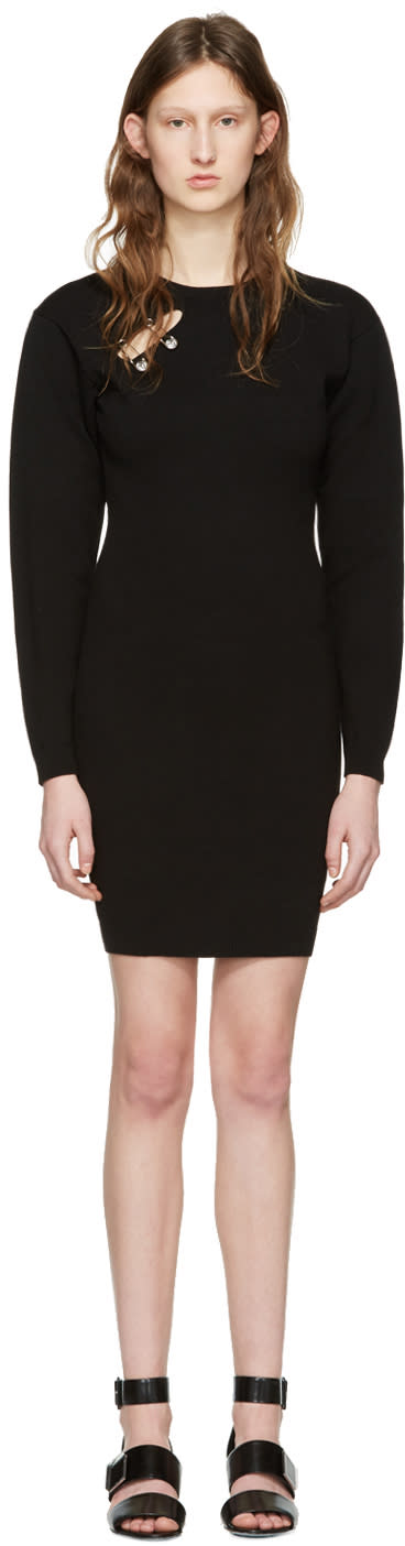 Versus Black Double Pin Dress