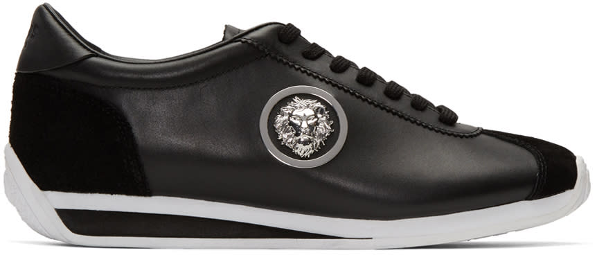 Versus Black Lion Sneakers