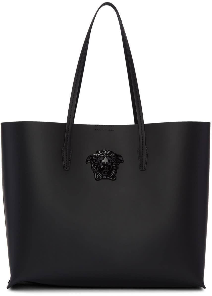 Versace Black Palazzo Shopper Tote