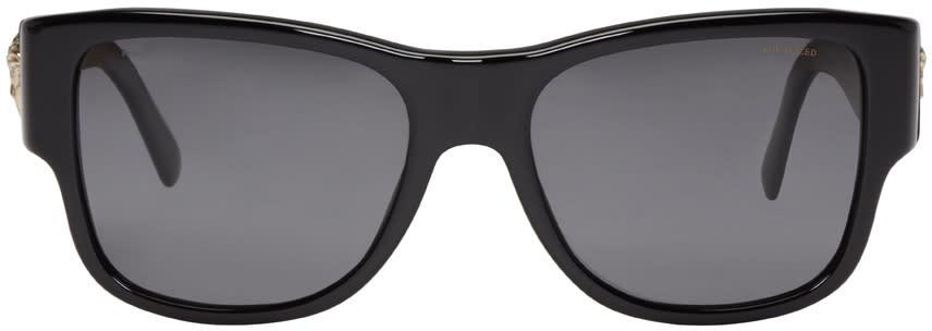 Versace ブラック メドゥーサ サングラス