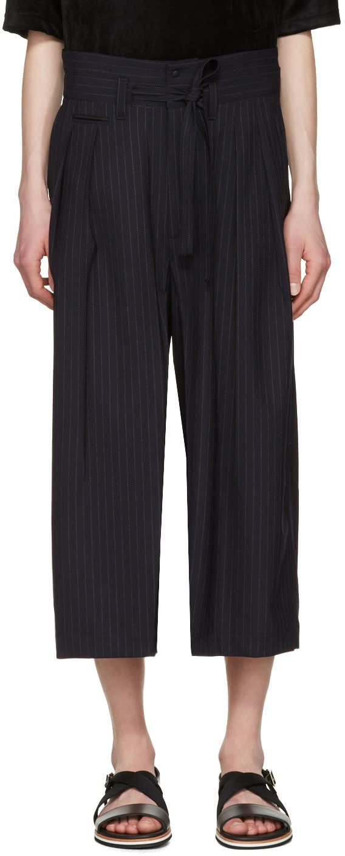 Sasquatchfabrix Navy Hakama Trousers