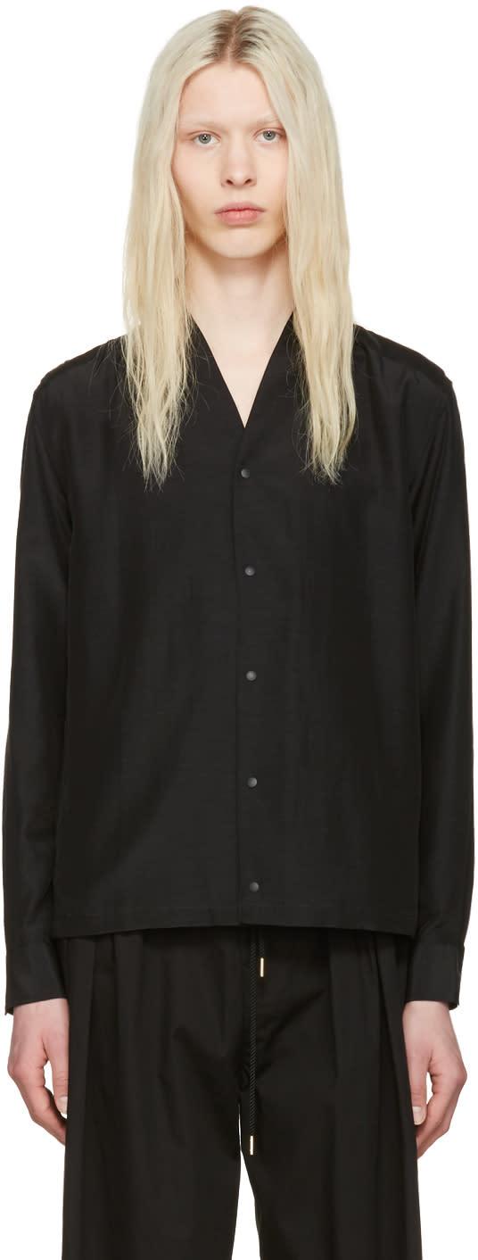 Sasquatchfabrix Black Wa-neck Shirt