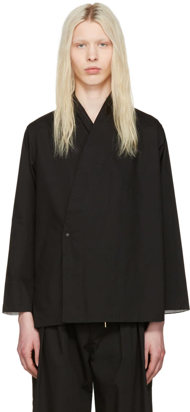 Sasquatchfabrix Black Jinbei Shirt