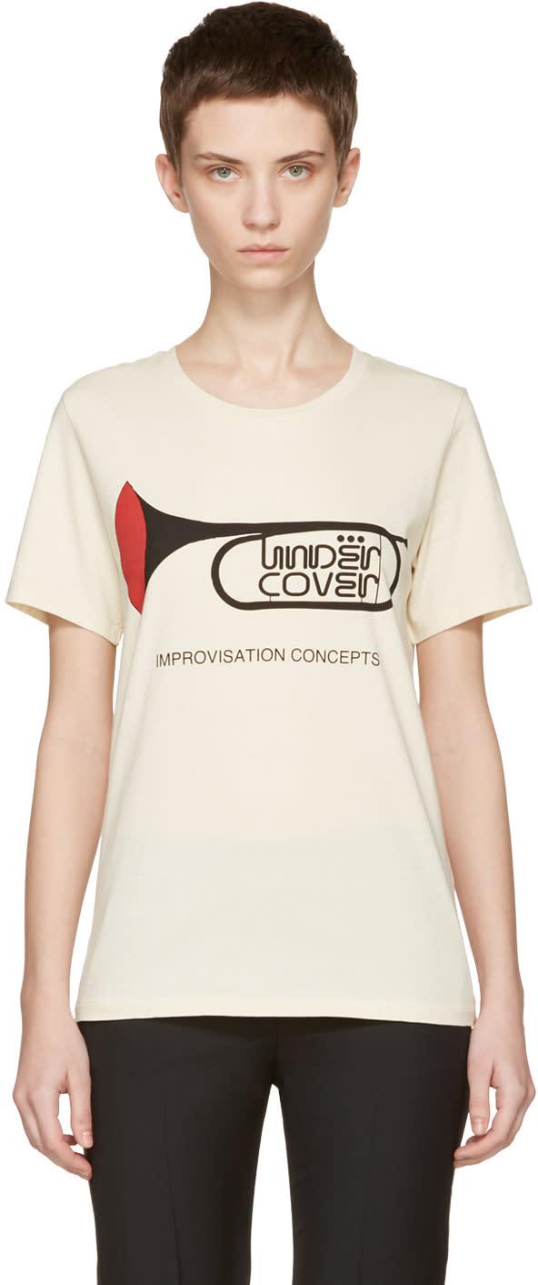 Undercover Ivory trompette Improvisation Concepts T-shirt